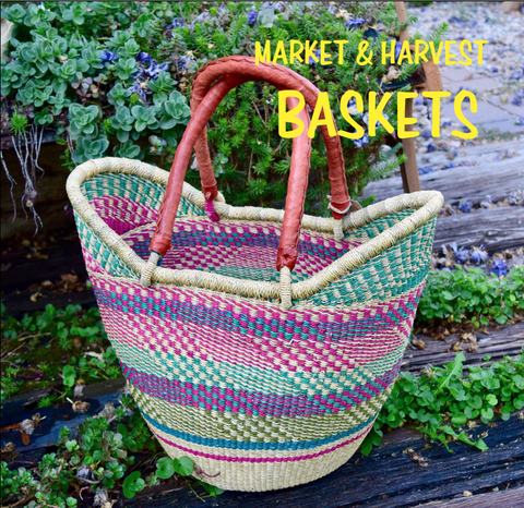 Market, Harvest & Storage Baskets