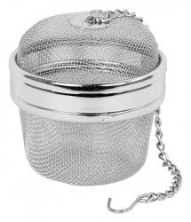 "Herb & Spice Mesh Tea-Ball 2.4"" & 4"""