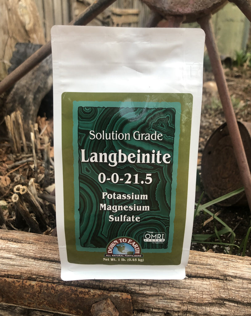 Langbeinite Solution Grade 0-0-21.5