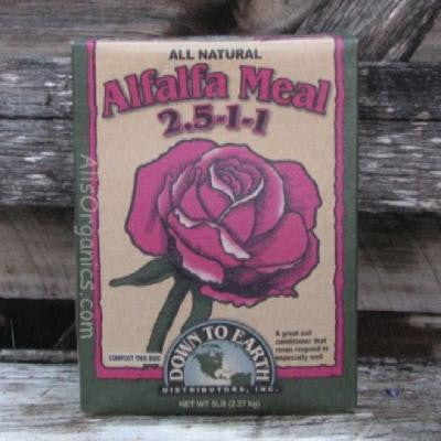 Alfalfa Meal 2.5-1-1 Organic Fertilizer