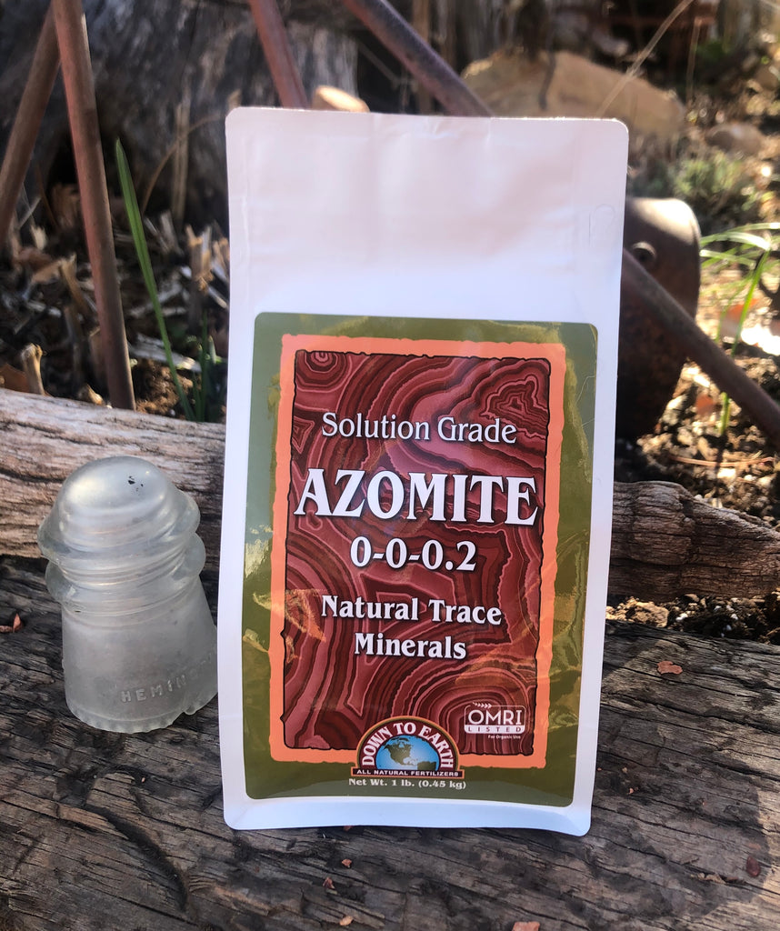 Azomite Solution Grade 0-0-0.2 Natural Trace Minerals