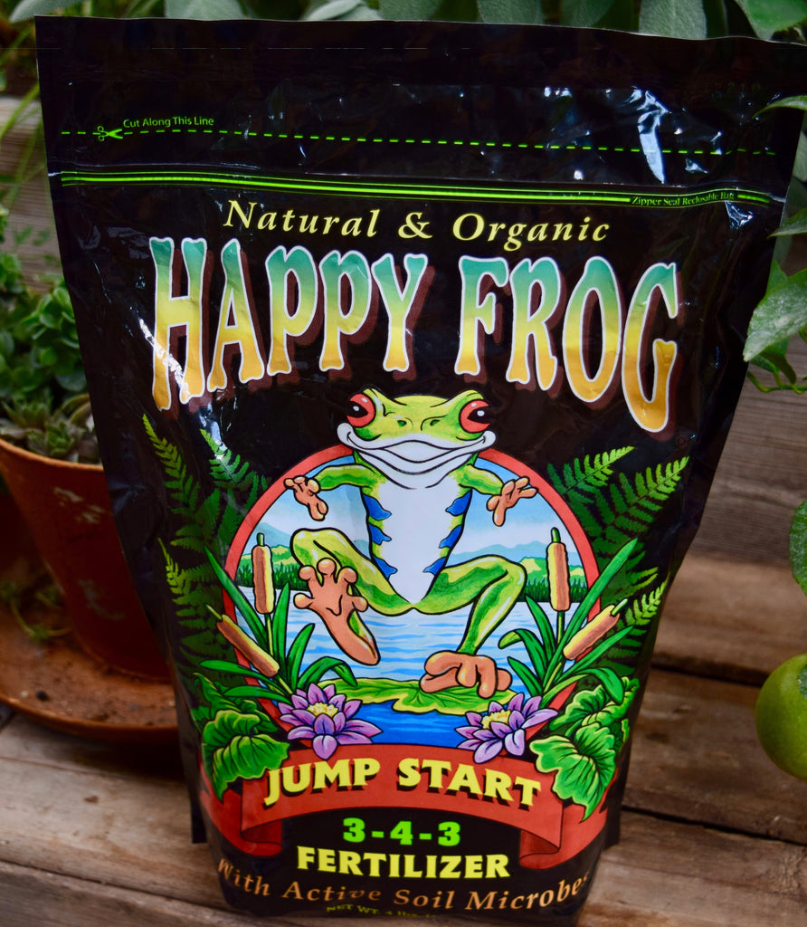 Jump Start Organic Fertilizer 3-4-3