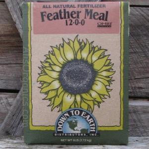 Feather Meal 12-0-0 Organic Fertilizer