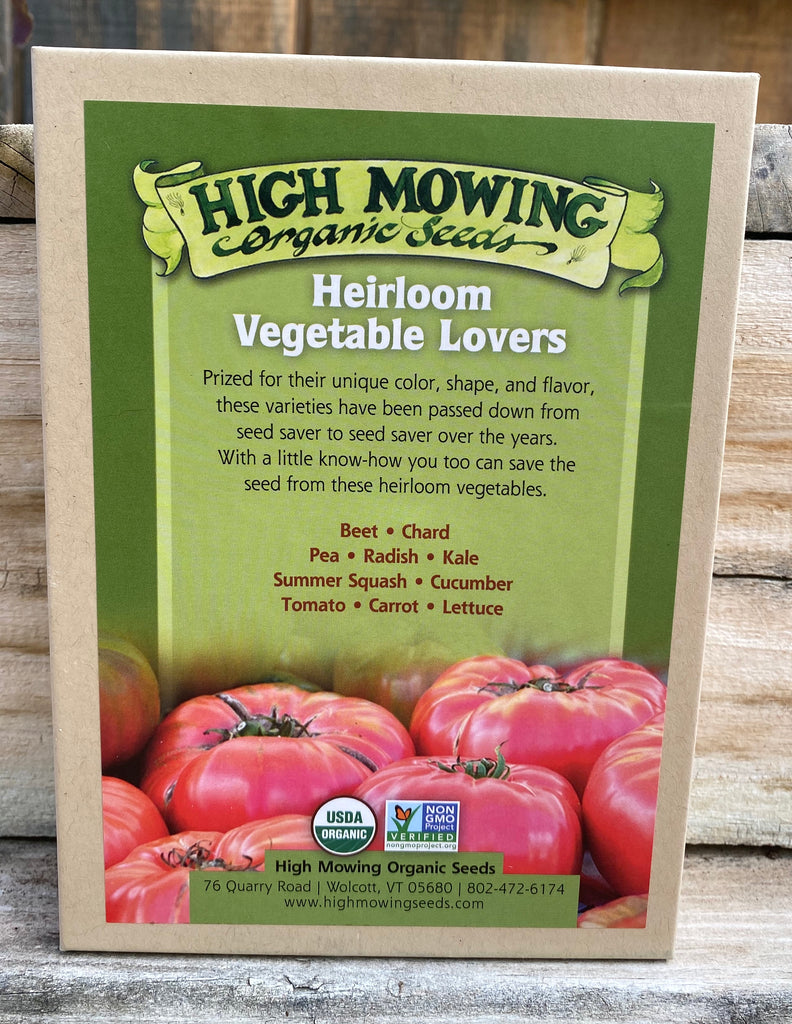 Heirloom Vegetable Lovers