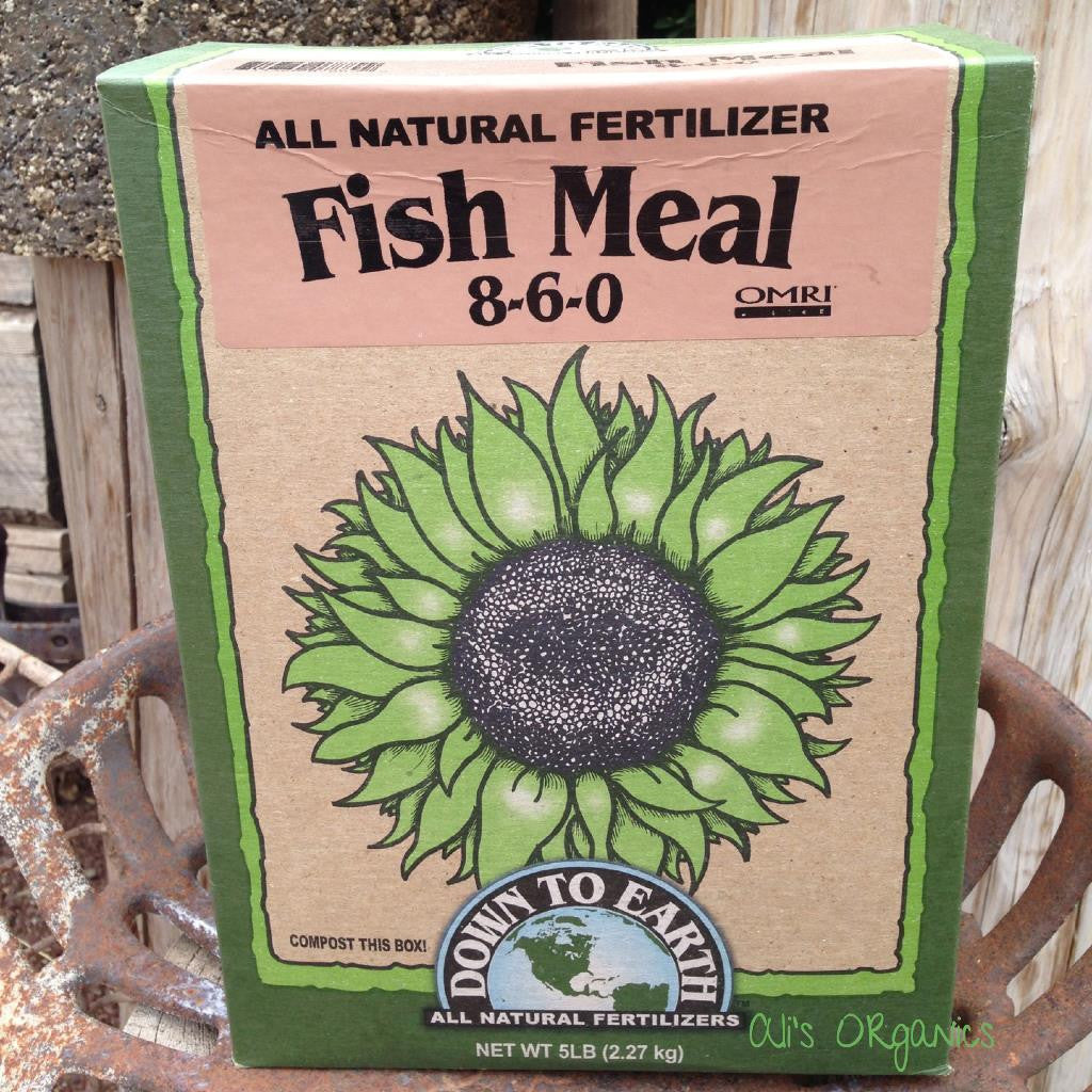 Fish Meal 8-6-0 Fertilizer