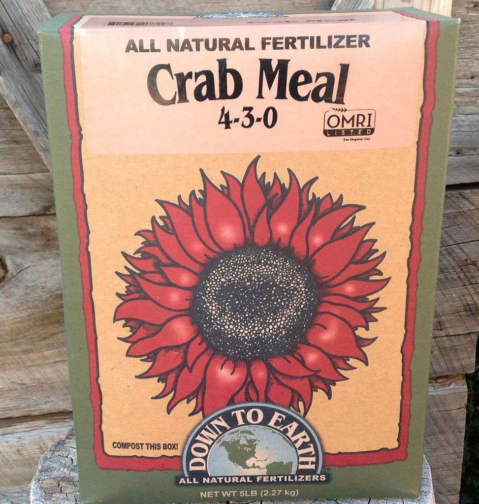 Organic Crab Shell Meal 4-3-0 Fertilizer