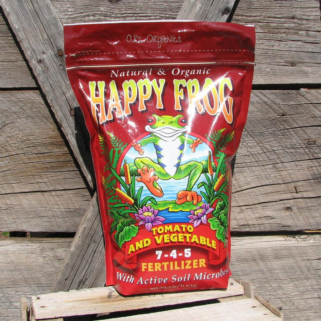 Happy Frog Tomato & Vegetable Fertilizer 7-4-5