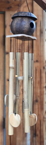 Island House Bamboo Wind Chime
