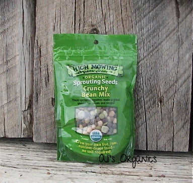 Crunchy Bean Mix Organic Sprouting Seeds