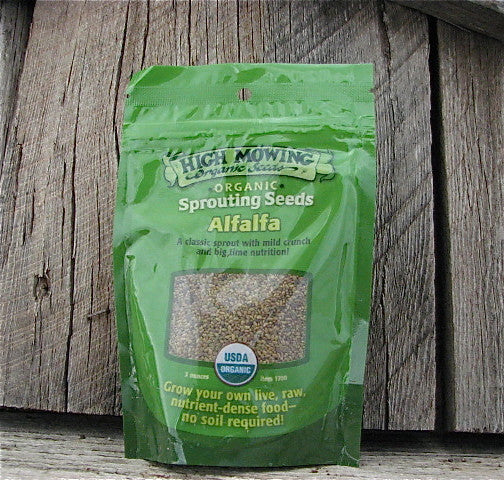 Alfalfa Organic Sprouting Seeds