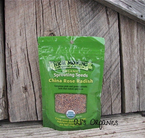 China Rose Radish Organic Sprouting Seeds