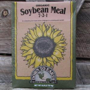 Organic Soy Bean Meal 7-2-1