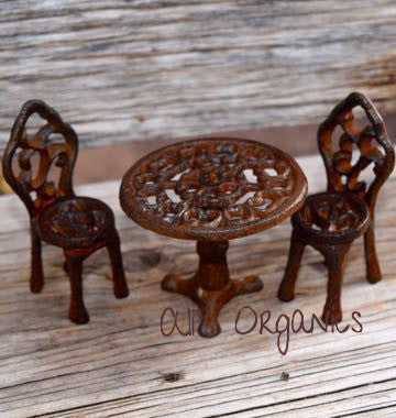 Miniature Bistro Set