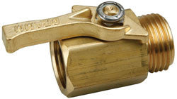 Dramm Brass Shut Off Valve
