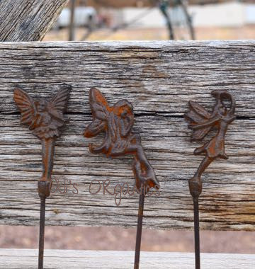 Miniature Fairy Pic Set of 3