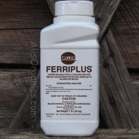 Miller Ferriplus Chelated Iron | Corrects Iron Cholorsis in