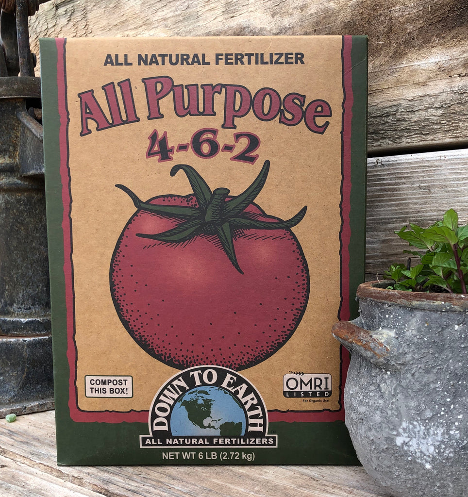 All Purpose 4-6-2 Organic Fertilizer