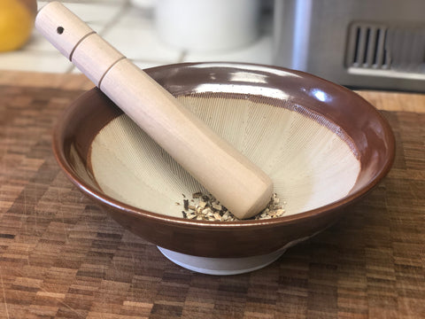 Suribachi Mortar and Pestle