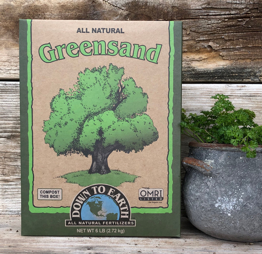Greensand 0-0-3 Mineral & Organic Fertilizer