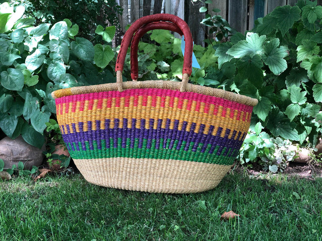 Large Ghana Shopper Basket
