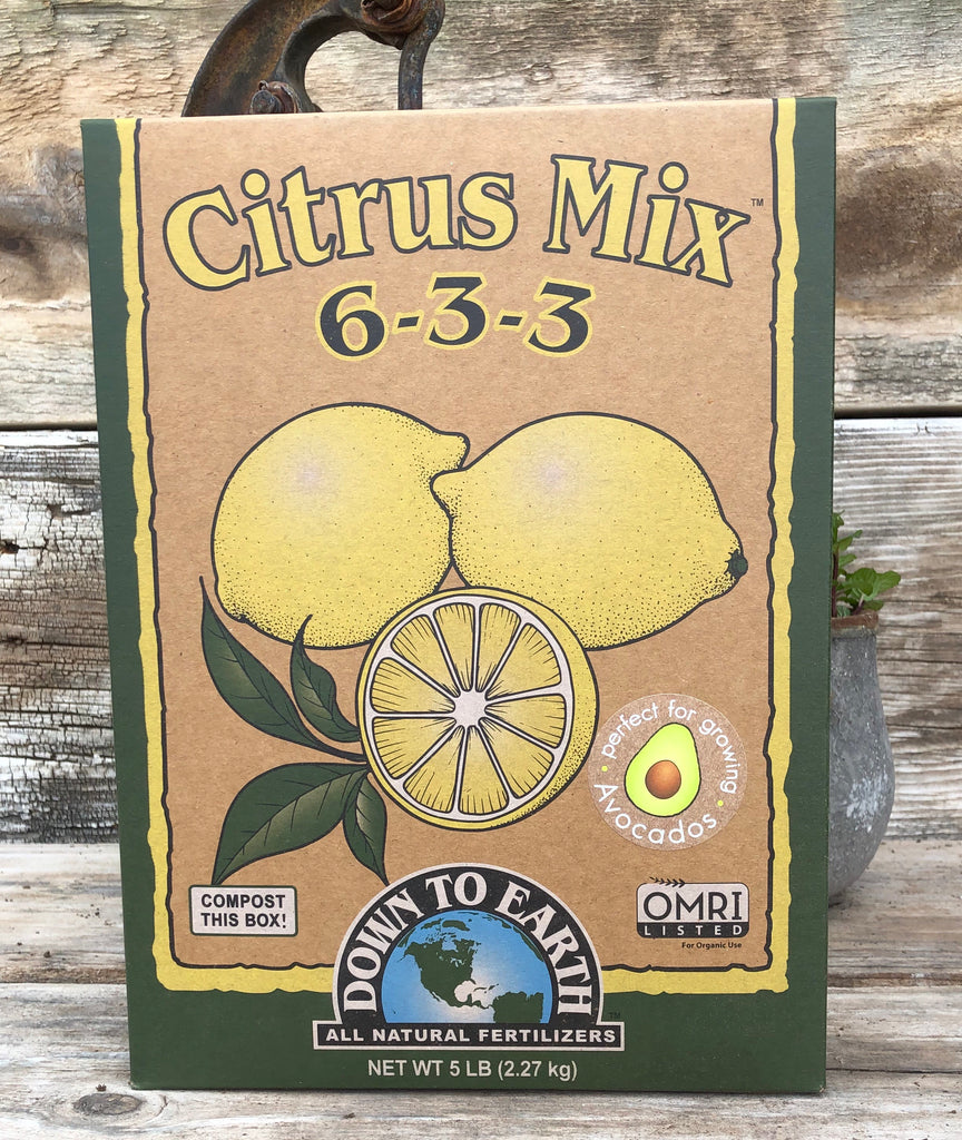 Citrus Mix 6-3-3 Organic Fertilizer