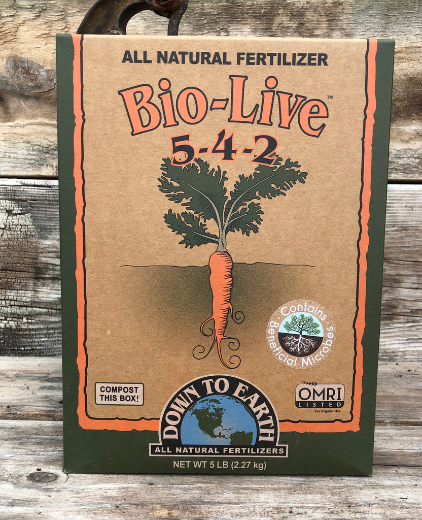 Bio-Live 5-4-2 Fertilizer w/Mycorrhizae