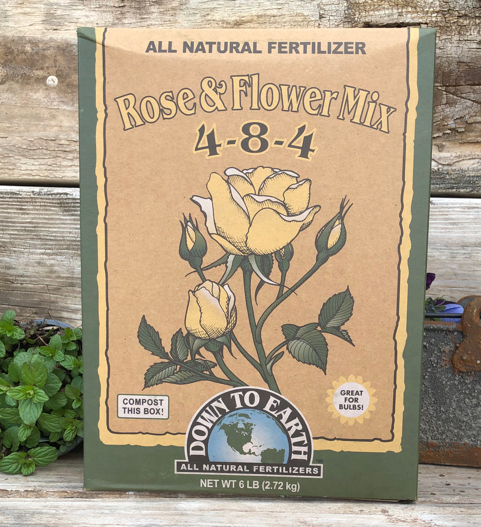 Rose & Flower 4-8-4 Organic Fertilizer