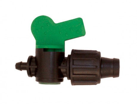 "Drip Tape 1/4"" Barb with Valve"