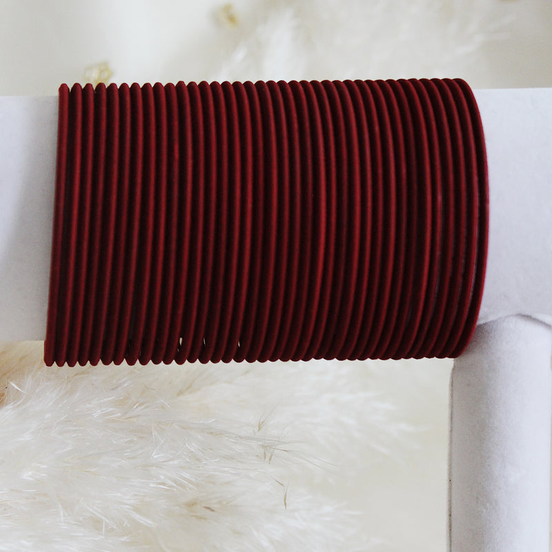 Ruby Red Bangles