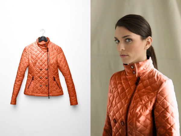 The Flynn Jacket in Persimmon