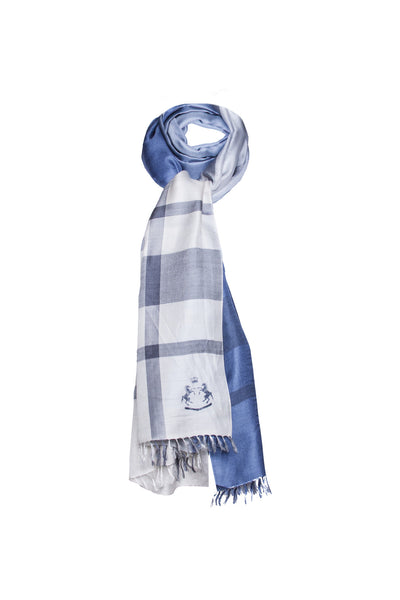 Hannah Scarf - Chambray Blue