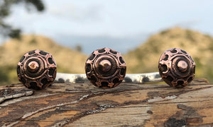 Copper Shield 3cap - Valou ::: Home of the Original 3cap ring design :::