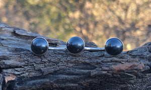 Hematite 3cap #1 - Valou ::: Home of the Original 3cap ring design :::