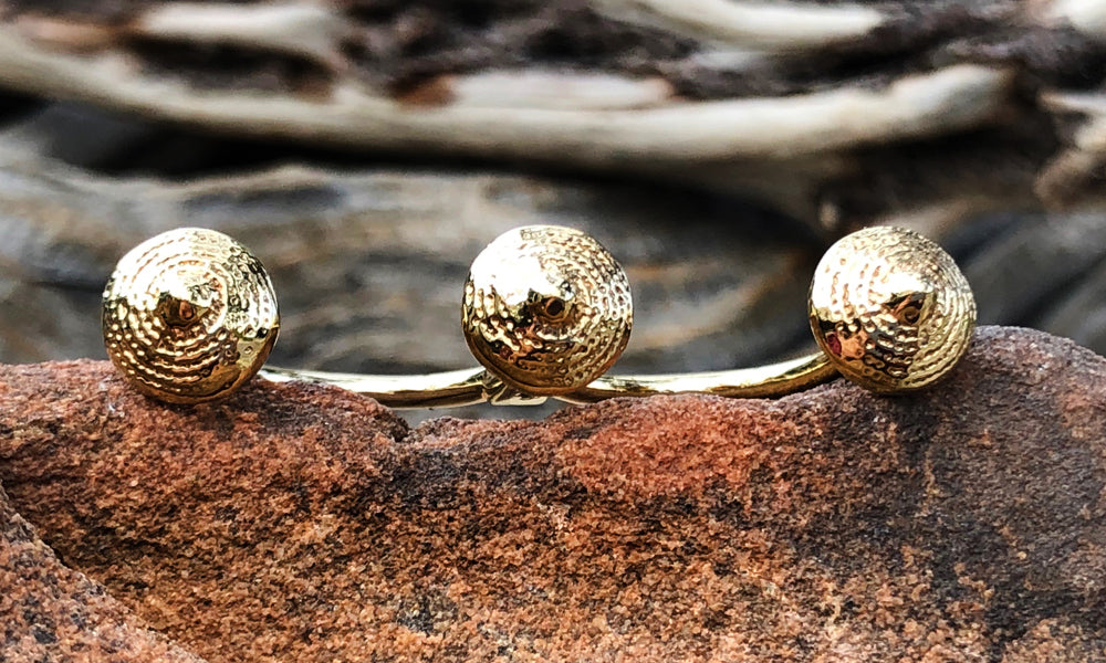 Pagoda Gold - Valou ::: Home of the Original 3cap ring design :::