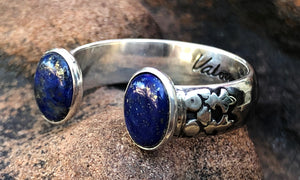 Lapis 2cap - Valou ::: Home of the Original 3cap ring design :::