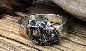 Meteorite Ring #2 - Valou ::: Home of the Original 3cap ring design :::