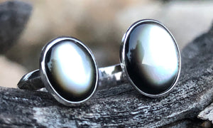 Mother-of-pearl 2cap - Valou ::: Home of the Original 3cap ring design :::