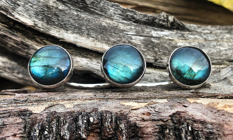 Labradorite 3cap - Valou ::: Home of the Original 3cap ring design :::