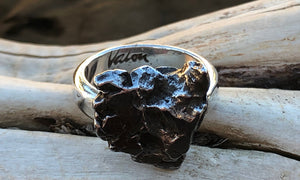 Meteorite Ring #3 - Valou ::: Home of the Original 3cap ring design :::