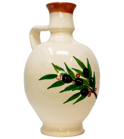 Elias' olive oil flagon