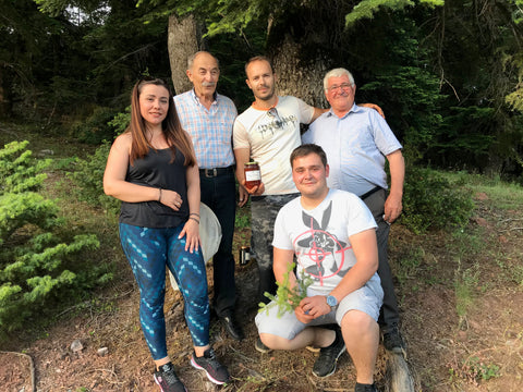Thomas and his family of beekeepers