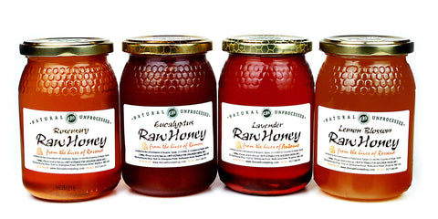 Pure and Natural Raw Honey Summer Selection - The Raw Honey Shop