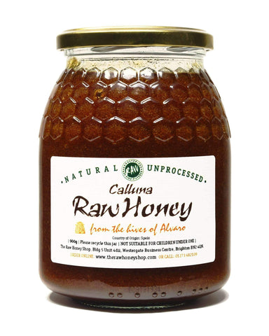 Pure and Natural Raw Calluna Honey - 900g - The Raw Honey Shop