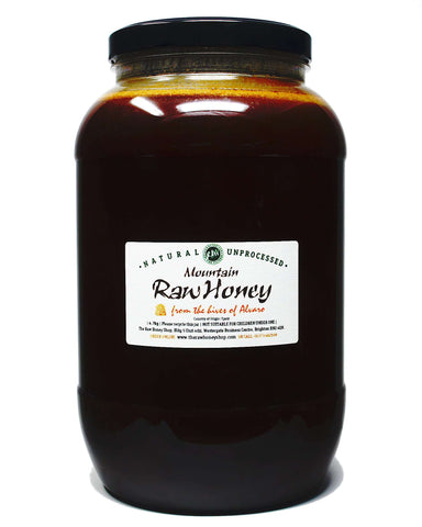 Pure and Natural Raw Mountain Honey - 4.7kg - The Raw Honey Shop