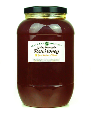 Raw Spring Mountain Honey - 5kg