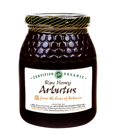 Raw Organic Arbutus Honey - 1kg