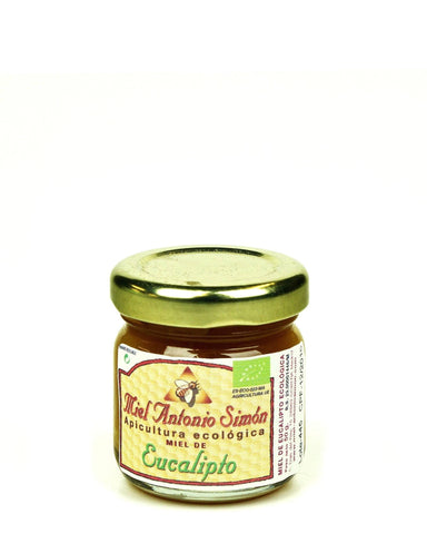 Pure and Natural Raw Eucalyptus Honey - 50g Tester - The Raw Honey Shop