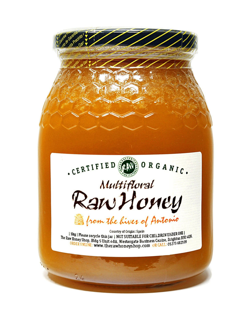 Pure and Natural Raw Multifloral Honey - 1kg - The Raw Honey Shop