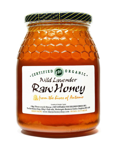 Raw Organic Wild Lavender Honey - 1kg