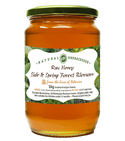 Raw Sidr & Spring Forest Blossom Honey - 1kg